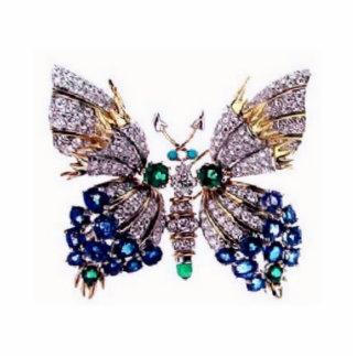 Briljant fjärilsfotoskulptur photo cut out