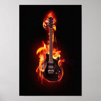 Brinna gitarraffisch poster