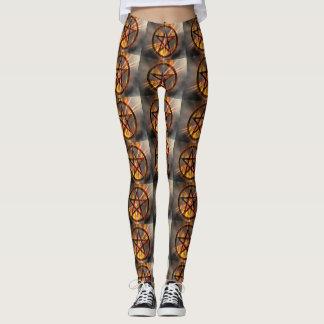 Brinna Pentagram Leggings