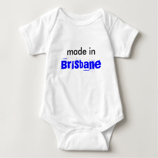 Brisbane nyfödd bebisskjorta t shirts