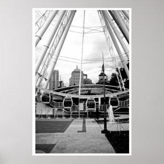 Brisbane öga poster