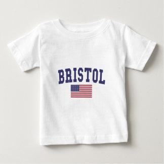 Bristol US flagga T-shirt