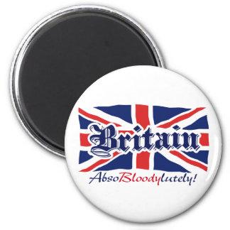 Britannien är underbar magnet rund 5.7 cm