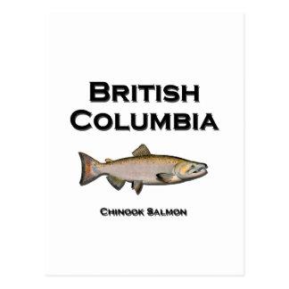 British Columbia - BC Chinooklax Vykort