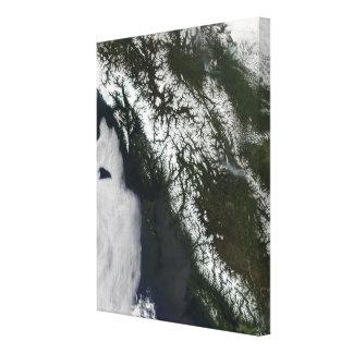 British Columbia Canvastryck