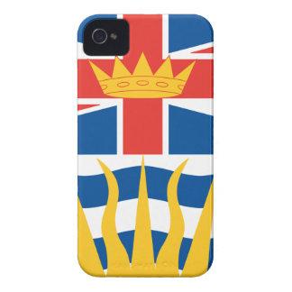 BRITISH COLUMBIA Case-Mate iPhone 4 FODRAL