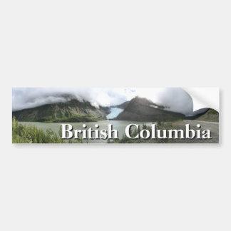 British Columbia glaciärer Bildekal