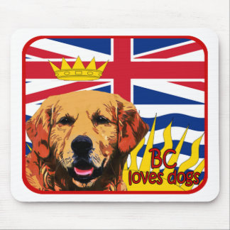 British Columbia guld- Retriever Musmatta