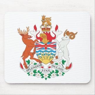 British Columbia vapensköld Musmatta