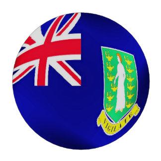 British Virgin Islands flagga Poker Chips