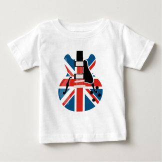 Britpop gitarr t-shirt