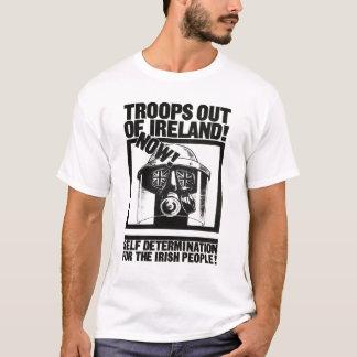 Britten gå i skaror ut ur Irland T Shirts
