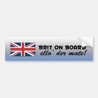 Brittisk bildekal
