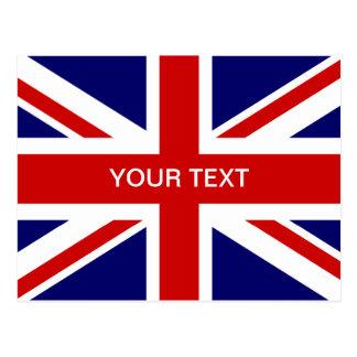Brittisk design för jack för flaggavykort | vykort