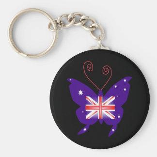 Brittisk Divafjäril Nyckelringar