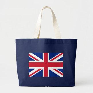 Brittisk flagga för facklig jack jumbo tygkasse