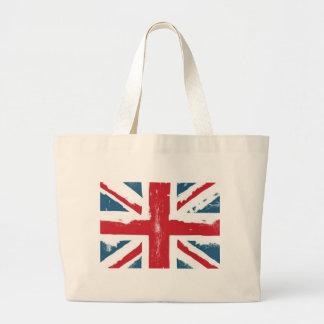 Brittisk flagga jumbo tygkasse