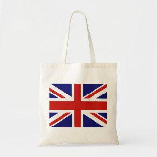 Brittisk flagga tote bags