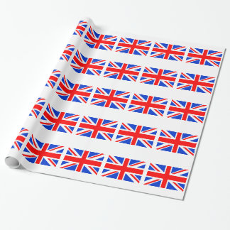 Brittisk flagga presentpapper