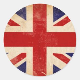 Brittisk klistermärke