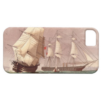 Brittisk krigsskeppHMS-krigare iPhone 5 Skal