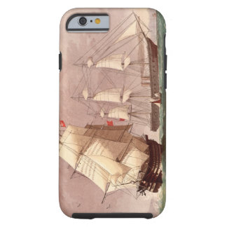 Brittisk krigsskeppHMS-krigare Tough iPhone 6 Case