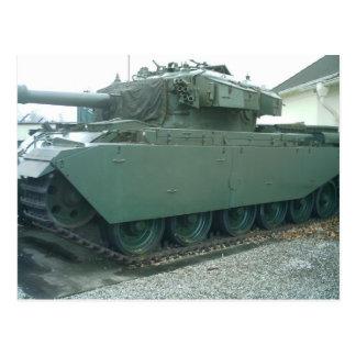 Brittisk tank vykort