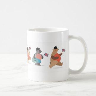 Brittiska björnar kaffemugg