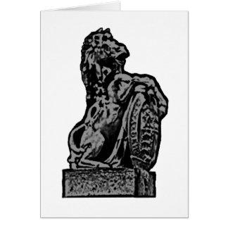 Brittiska grått för Emblemhästlv den MUSEUMZazzle  Hälsnings Kort