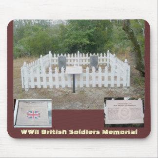 Brittiska gravar OBX Mousepad för WWII Musmatta