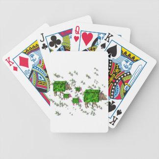 brittiska häckhogs spelkort