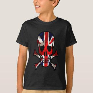 Brittiska skalle- & korben t shirt