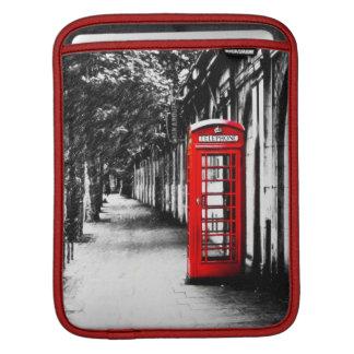 Brittiskt rött ringer boxas från London Sleeve För iPads