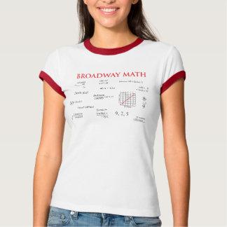 Broadway Math T Shirts