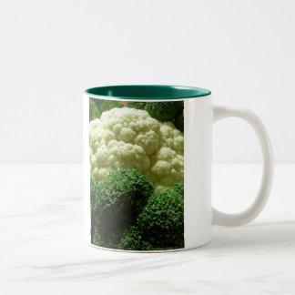 Broccoli & blomkål Två-Tonad mugg