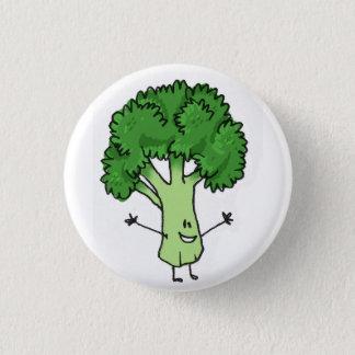 Broccoli knäppas mini knapp rund 3.2 cm