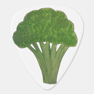 Broccoligitarrplocka Plektrum