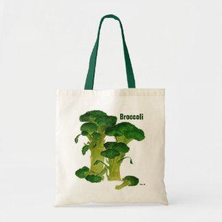 Broccolishopping bag budget tygkasse
