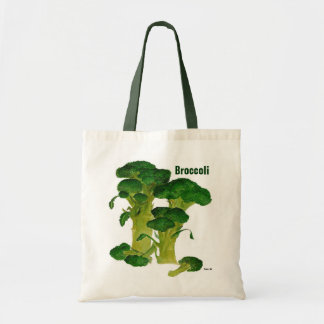 Broccolishopping bag tygkasse