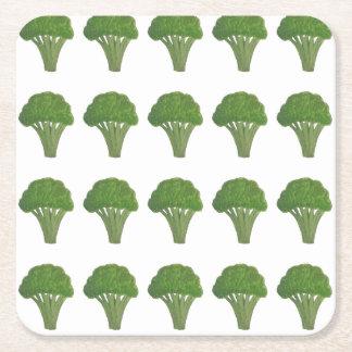 Broccoliunderlägg Underlägg Papper Kvadrat