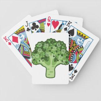 Broccolivektorsymbol Spelkort
