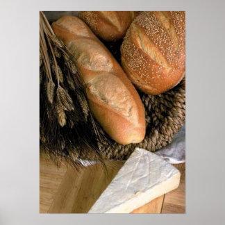 Bröd & ost affisch