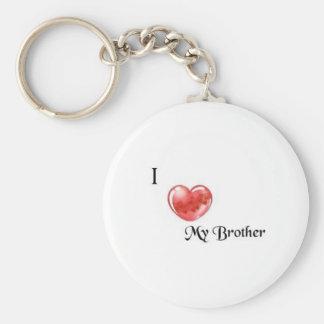 broder rund nyckelring