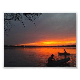 Bröder som Kayaking