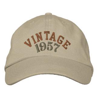 Broderad baseballmössa för vintage år broderad baseball keps