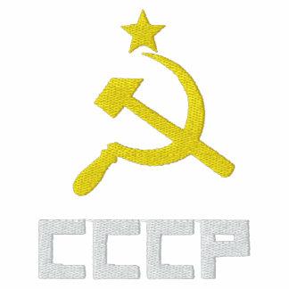 Broderad CCCP-kvinnaT-tröja