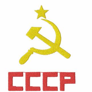 Broderad CCCP-T-tröja