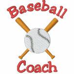 Broderad design för baseball lagledare jacka