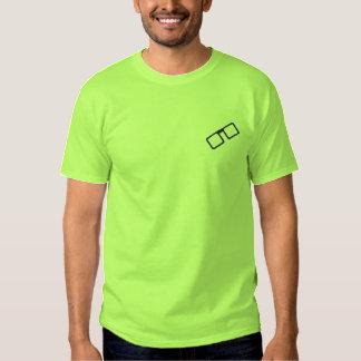 Broderad GeekT-tröja Broderad T-shirt