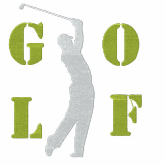 Broderad Golf spårar jackan